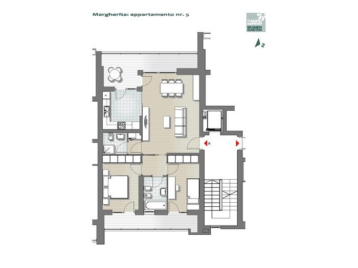 Blumengarten-B1MA5, 3. Obergeschoss -- 0