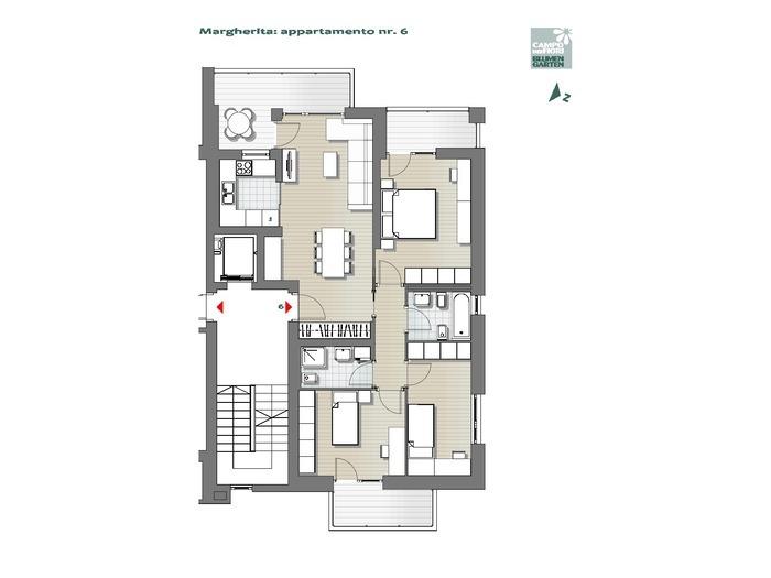 Campo dei Fiori-B1-MA6, 3° piano -- 0