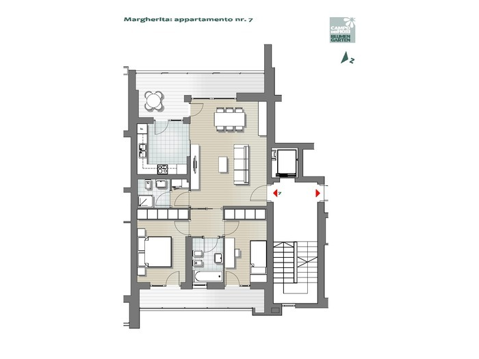 Blumengarten-B1MA7, 4. Obergeschoss -- 0