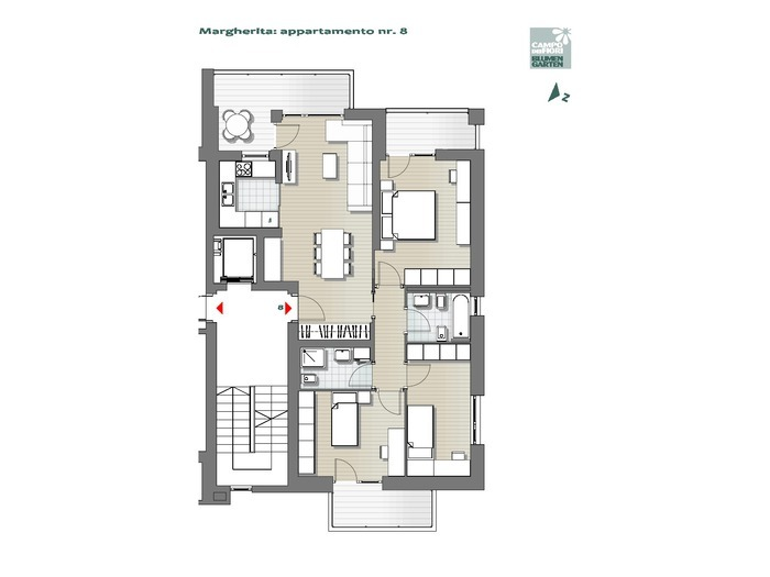Blumengarten-B1-MA8, 4. Obergeschoss -- 0
