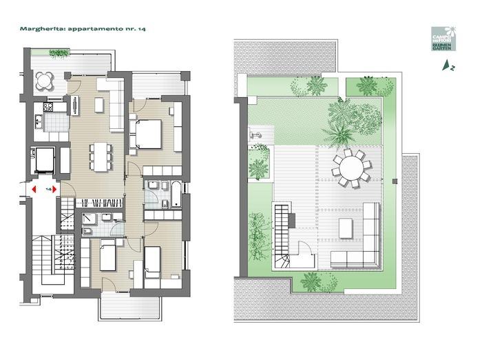 Campo dei Fiori - Margherita 14, 7° piano -- 0
