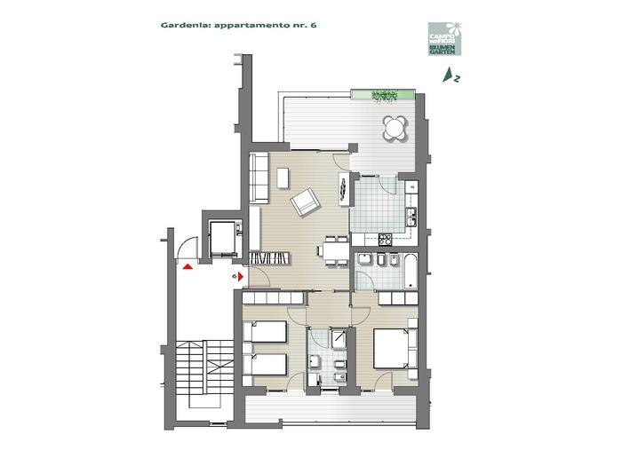 Campo dei Fiori-B1-GA6, 2° piano -- 0