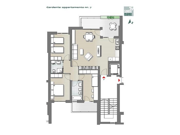 Campo dei Fiori - Gardenia 07, 3° piano -- 0