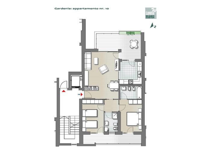 Campo dei Fiori-B1-GA10, 4° piano -- 0