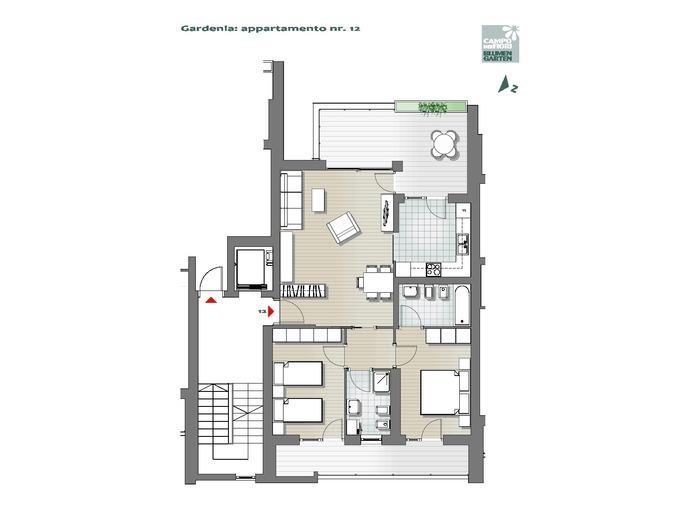 Campo dei Fiori-B1-GA12, 5° piano -- 0