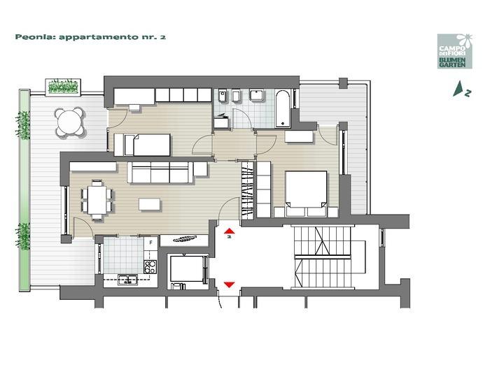 Blumengarten-B2-PE2, 1. Obergeschoss -- 0