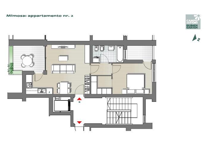Blumengarten-B2-MI2, 1. Obergeschoss -- 0