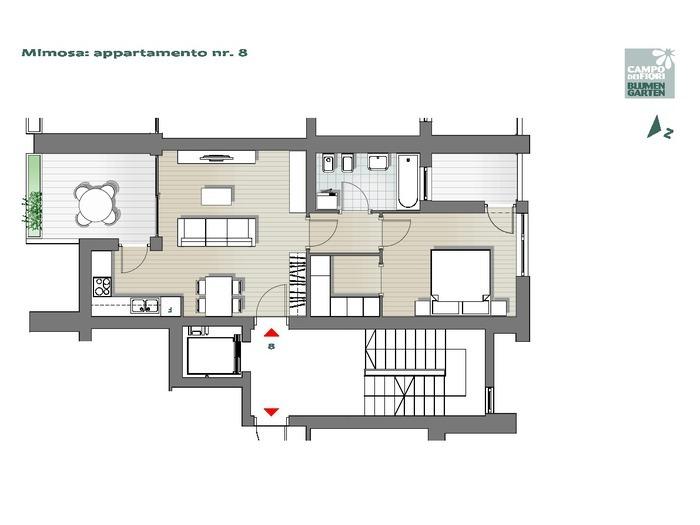 Blumengarten-B2-MI8, 4. Obergeschoss -- 0