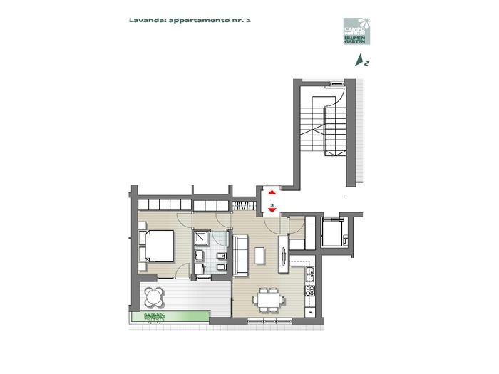Campo dei Fiori - Lavanda 02, piano terra -- 0