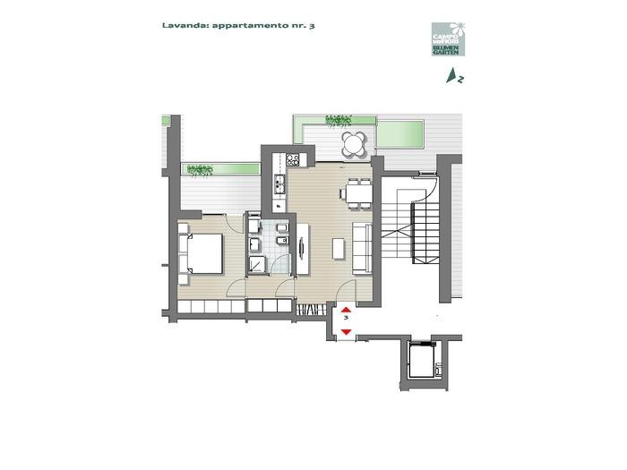 Blumengarten-B3-LA3, Erdgeschoss -- 0
