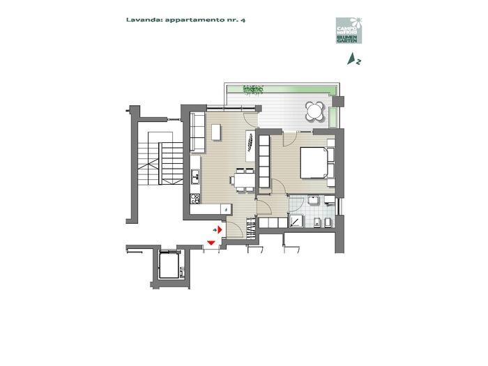 Blumengarten-B3-LA4, 1. Obergeschoss -- 0