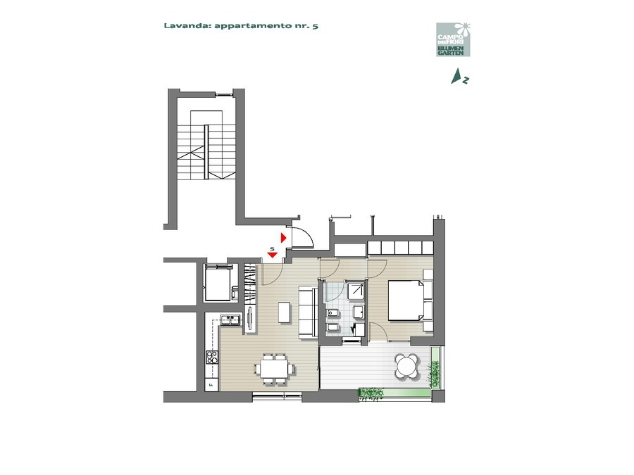 Campo dei Fiori - Lavanda 05, 1° piano -- 0