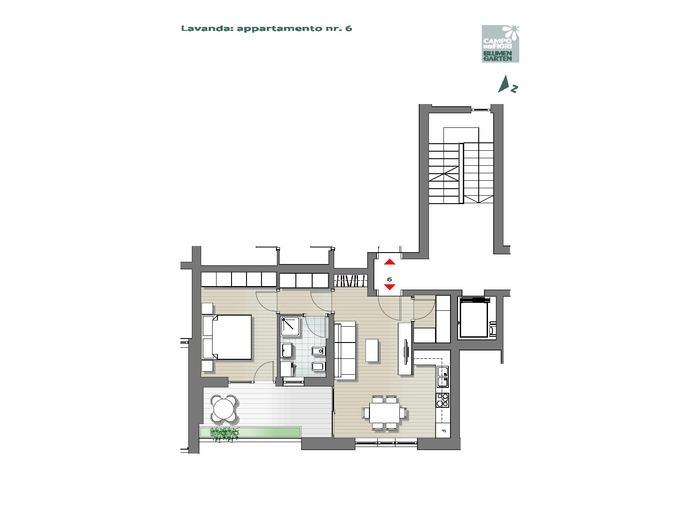 Campo dei Fiori - Lavanda 06, 1° piano -- 0