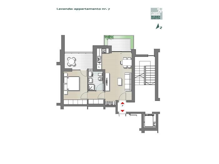 Blumengarten-B3-LA7, 1. Obergeschoss -- 0