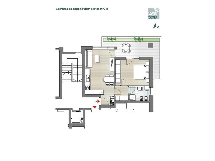 Blumengarten-B3-LA8, 2. Obergeschoss -- 0