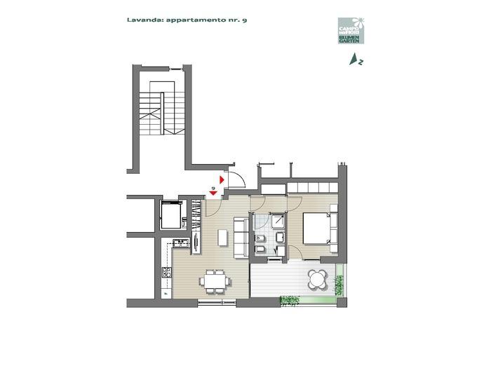 Campo dei Fiori-B3-LA9, 2° piano -- 0