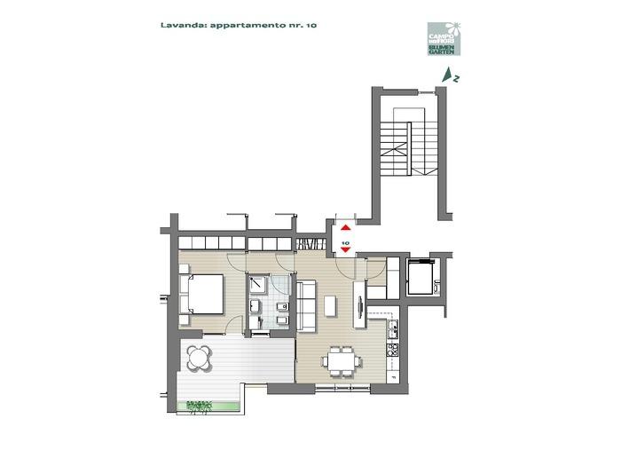 Campo dei Fiori - Lavanda 10, 2° piano -- 0