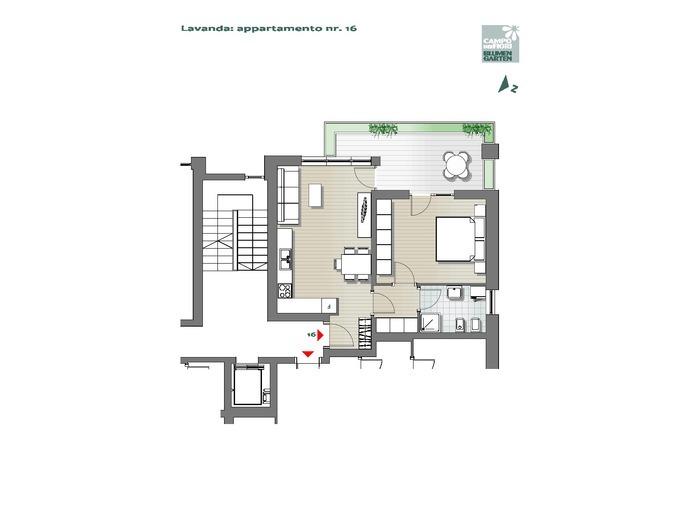 Blumengarten-B3-LA16, 4. Obergeschoss -- 0