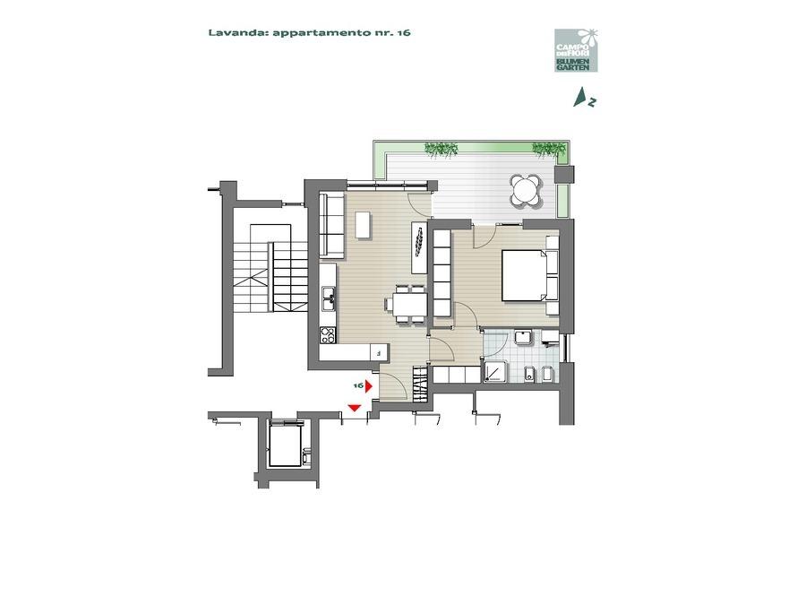 Campo dei Fiori - Lavanda 16, 4° piano -- 0