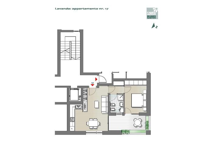 Campo dei Fiori - Lavanda 17, 4° piano -- 0