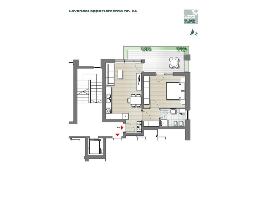 Campo dei Fiori - Lavanda 24, 6° piano -- 0