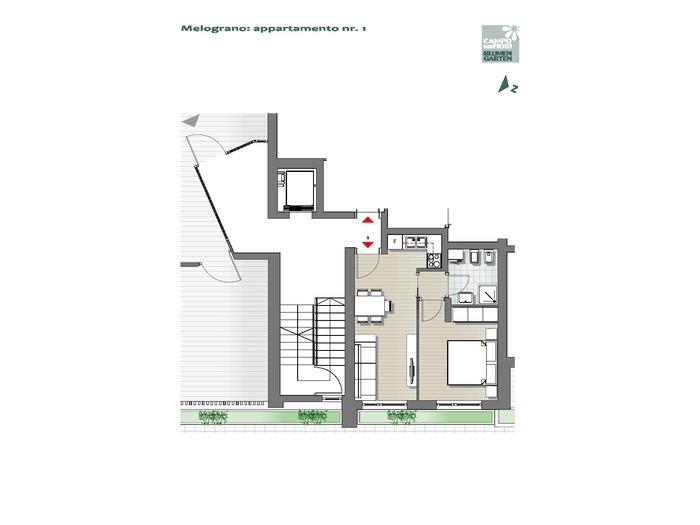 Blumengarten-B3-ME1, Erdgeschoss -- 0