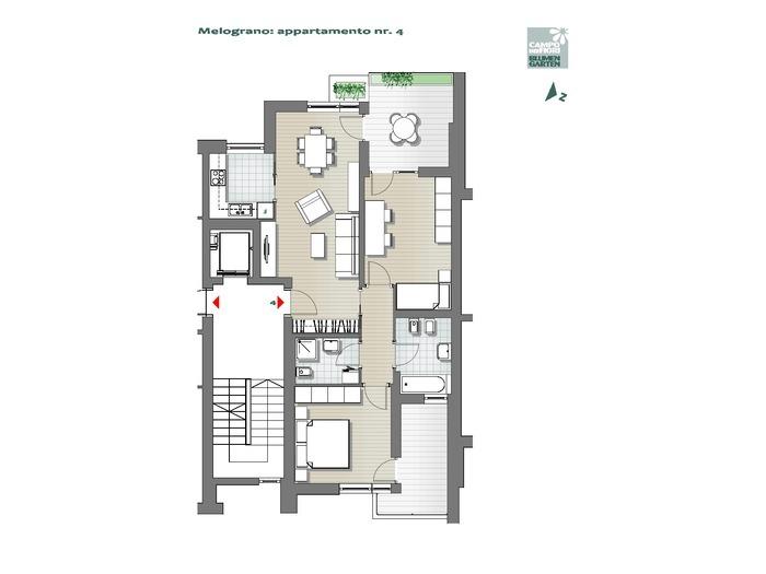 Campo dei Fiori-B3-ME4, 1° piano -- 0