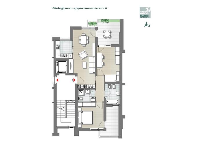 Campo dei Fiori-B3-ME6, 2° piano -- 0