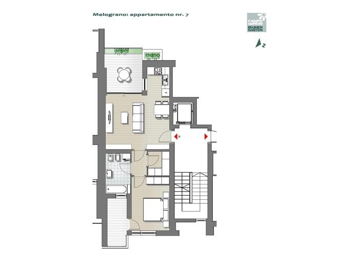 Blumengarten-B3-ME7, 3. Obergeschoss -- 0