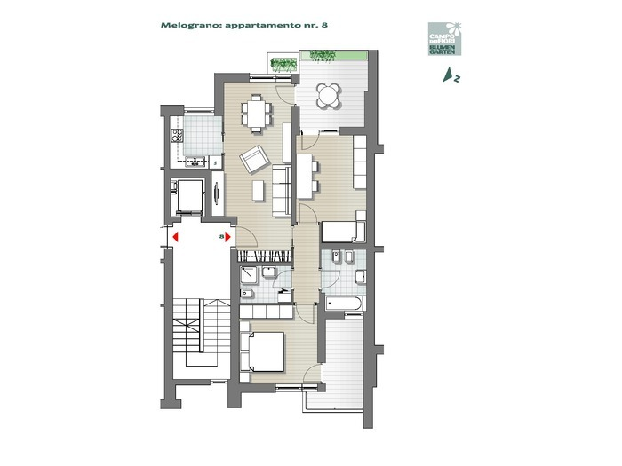 Blumengarten-B3-ME8, 3. Obergeschoss -- 0