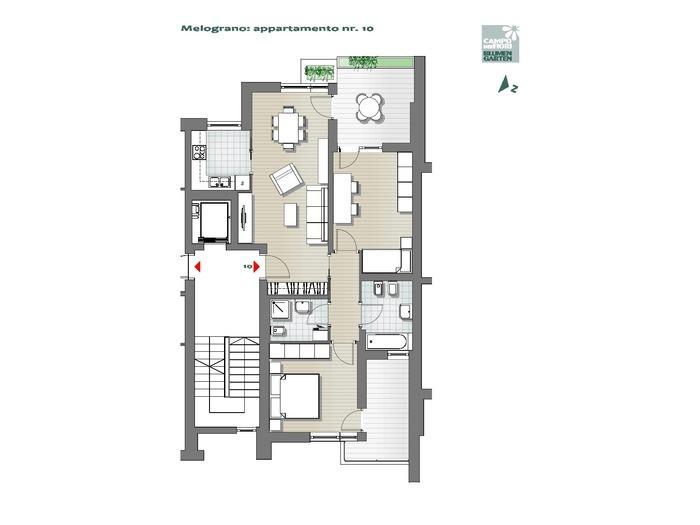 Blumengarten-B3-ME10, 4. Obergeschoss -- 0