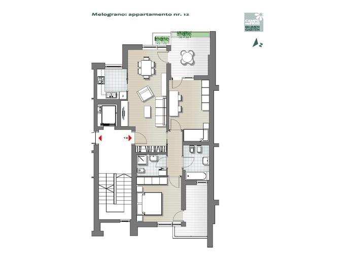 Campo dei Fiori-B3-ME12, 5° piano -- 0