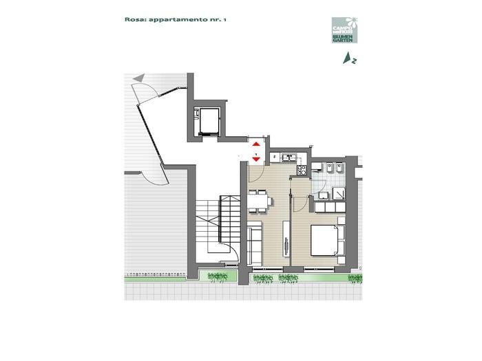 Campo dei Fiori-B3-RO1, piano terra -- 0