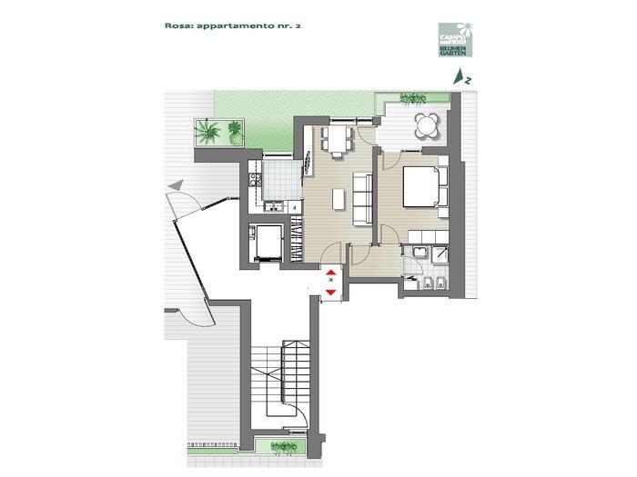 Campo dei Fiori-B3-RO2, piano terra -- 0