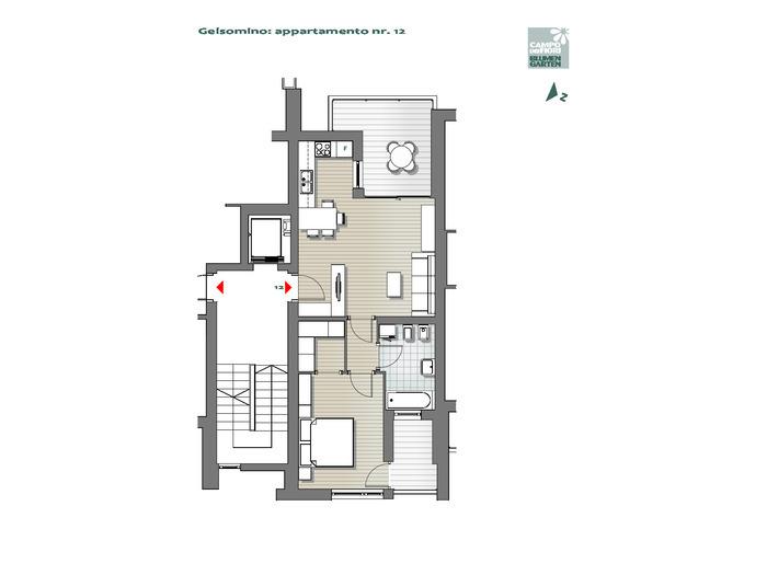 Campo dei Fiori - Gelsomino 12, 6°piano -- 0