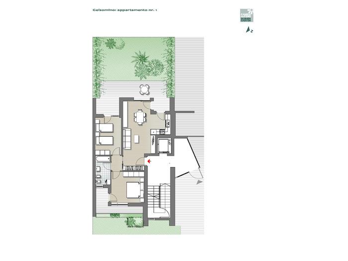 Campo dei Fiori - Gelsomino 01, piano terra -- 0