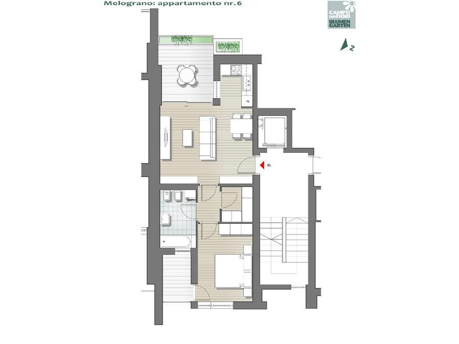 Campo dei Fiori - Melograno 06, 2° piano -- 0